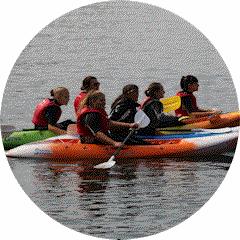 Kayak recreazione